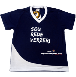 Camiseta Malha PV CSCJ - INFANTIL