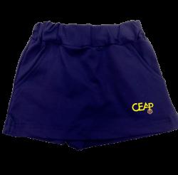 Saia Short Malha Fitness CEAP - Infantil