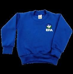Blusão Malha Colegial Apeluciado EFAef - Infantil